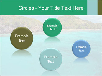 Crystal clear sea PowerPoint Template - Slide 77