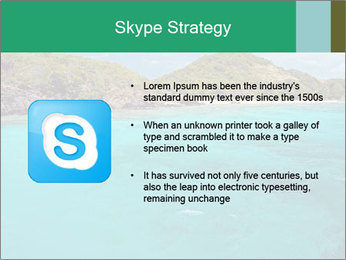 Crystal clear sea PowerPoint Template - Slide 8