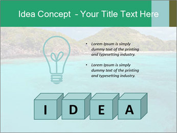 Crystal clear sea PowerPoint Template - Slide 80