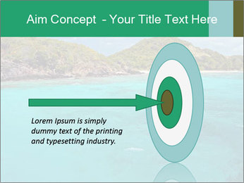 Crystal clear sea PowerPoint Template - Slide 83
