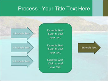 Crystal clear sea PowerPoint Template - Slide 85