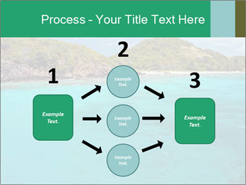 Crystal clear sea PowerPoint Template - Slide 92
