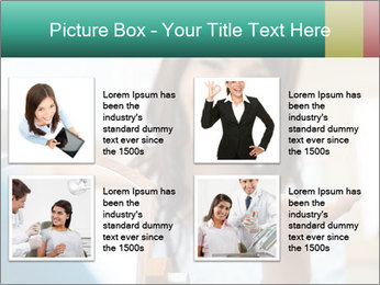 Portrait of young female PowerPoint Template - Slide 14