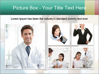 Portrait of young female PowerPoint Template - Slide 19