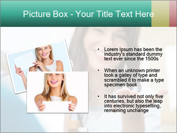 Portrait of young female PowerPoint Template - Slide 20