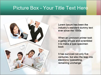 Portrait of young female PowerPoint Template - Slide 23