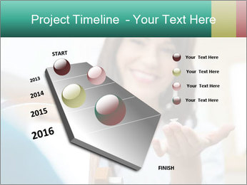 Portrait of young female PowerPoint Template - Slide 26