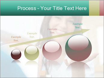 Portrait of young female PowerPoint Template - Slide 87