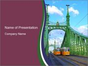 Bridge Budapest PowerPoint Template