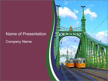 Bridge Budapest PowerPoint Templates - Slide 1