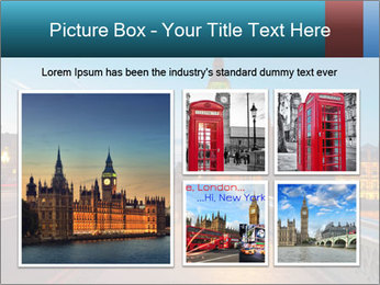 Chrome blue sky PowerPoint Templates - Slide 19