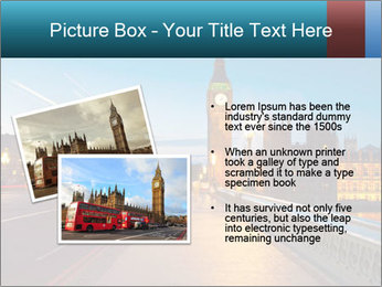 Chrome blue sky PowerPoint Template - Slide 20