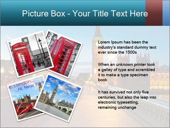 Chrome blue sky PowerPoint Templates - Slide 23
