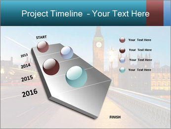 Chrome blue sky PowerPoint Templates - Slide 26