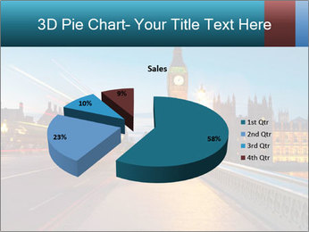 Chrome blue sky PowerPoint Template - Slide 35