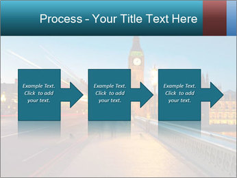 Chrome blue sky PowerPoint Template - Slide 88