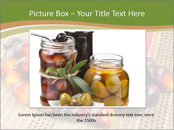 Close up of fresh oil palm fruits PowerPoint Templates - Slide 15