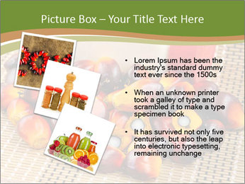 Close up of fresh oil palm fruits PowerPoint Templates - Slide 17