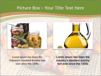 Close up of fresh oil palm fruits PowerPoint Templates - Slide 18