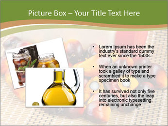 Close up of fresh oil palm fruits PowerPoint Templates - Slide 20