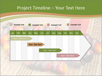 Close up of fresh oil palm fruits PowerPoint Templates - Slide 25
