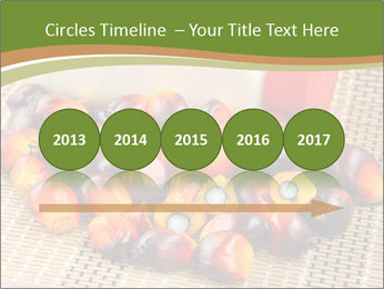 Close up of fresh oil palm fruits PowerPoint Templates - Slide 29