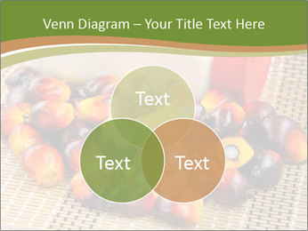 Close up of fresh oil palm fruits PowerPoint Templates - Slide 33