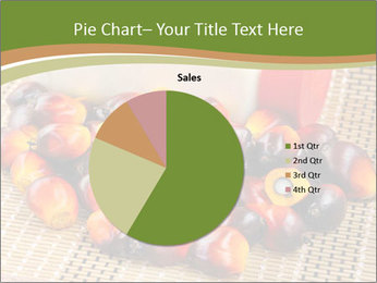 Close up of fresh oil palm fruits PowerPoint Templates - Slide 36