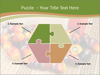 Close up of fresh oil palm fruits PowerPoint Templates - Slide 40