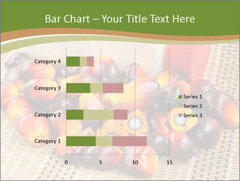 Close up of fresh oil palm fruits PowerPoint Templates - Slide 52