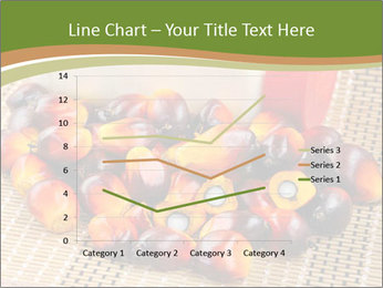 Close up of fresh oil palm fruits PowerPoint Templates - Slide 54
