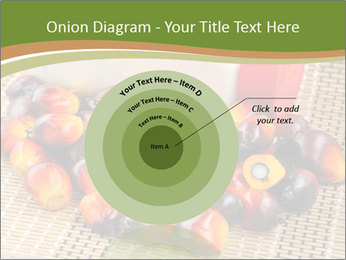 Close up of fresh oil palm fruits PowerPoint Templates - Slide 61