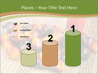 Close up of fresh oil palm fruits PowerPoint Templates - Slide 65