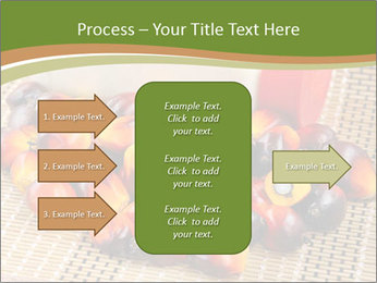 Close up of fresh oil palm fruits PowerPoint Templates - Slide 85