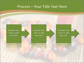 Close up of fresh oil palm fruits PowerPoint Templates - Slide 88