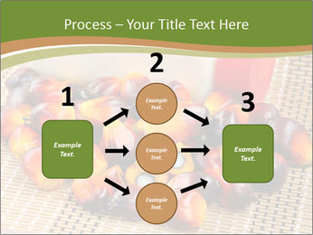 Close up of fresh oil palm fruits PowerPoint Templates - Slide 92