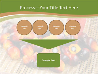 Close up of fresh oil palm fruits PowerPoint Templates - Slide 93