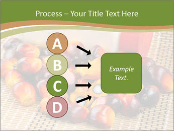 Close up of fresh oil palm fruits PowerPoint Templates - Slide 94