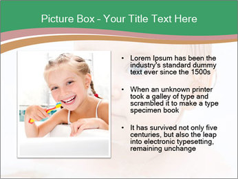 Cute 1 year-old boy PowerPoint Template - Slide 13