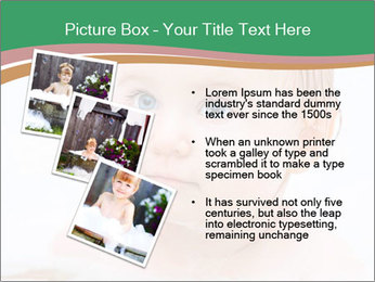 Cute 1 year-old boy PowerPoint Template - Slide 17
