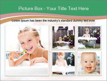 Cute 1 year-old boy PowerPoint Template - Slide 19
