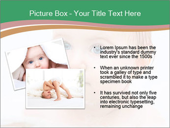Cute 1 year-old boy PowerPoint Template - Slide 20