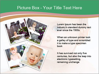 Cute 1 year-old boy PowerPoint Template - Slide 23