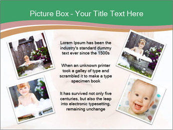 Cute 1 year-old boy PowerPoint Template - Slide 24