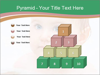 Cute 1 year-old boy PowerPoint Template - Slide 31