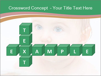 Cute 1 year-old boy PowerPoint Template - Slide 82