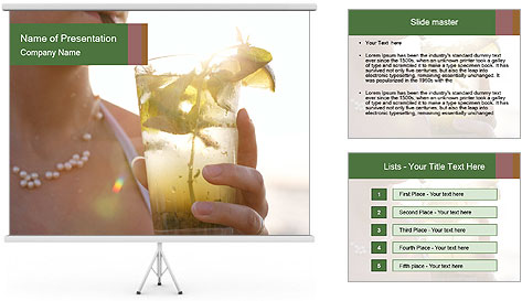Perfect front PowerPoint Template