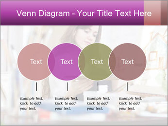 Woman dreams on canvas PowerPoint Templates - Slide 32