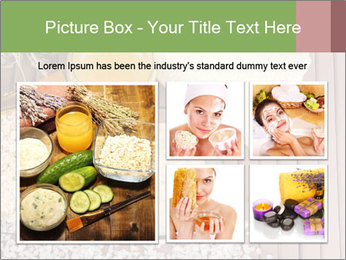 Homemade facial mask PowerPoint Template - Slide 19