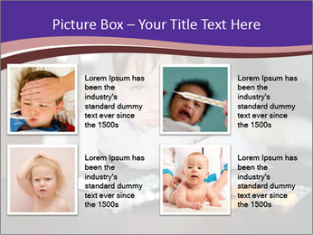 Sad preschooler PowerPoint Template - Slide 14